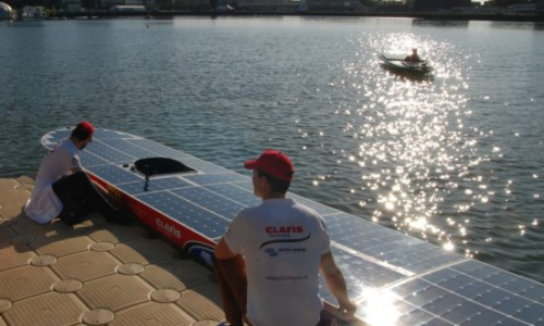Equipe Victron Energy barco solar